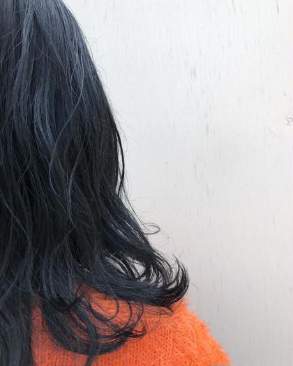 黒染め落としor脱染 & カラー & 内部補修トリートメント