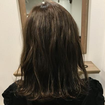 【ミニモ春きゅん】透明感抜群イルミナカラー & カット & トリートメント