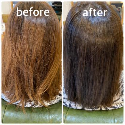 【美髪チャージ】TV 、SNSで話題の最新髪質改善水素トリートメント+イルミナカラー✨
