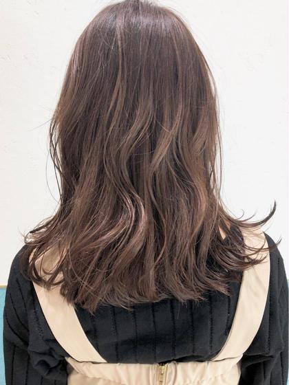 【❤️超お得白髪染めメニュー💆🏻❤️】リタッチカラー&前髪カット&集中補修ハホニコトリートメント✨❤️