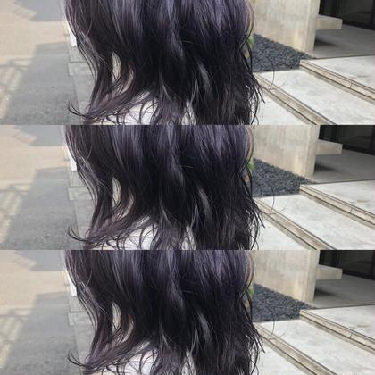 Annacolorlistのミディアムのヘアスタイル