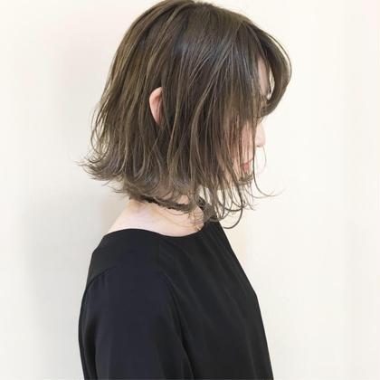 ❤️全員/2月限定❤️カット+イルミナカラー+Aujuaトリートメント⭐️