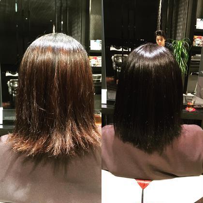 トーンダウンして艶髪に。 Hair&Make EARTH所属・榎本雅朗のスタイル