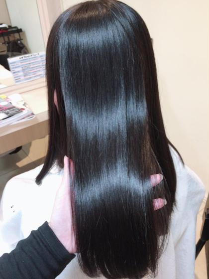 🌱カット + 髪質改善縮毛矯正 + トリートメント