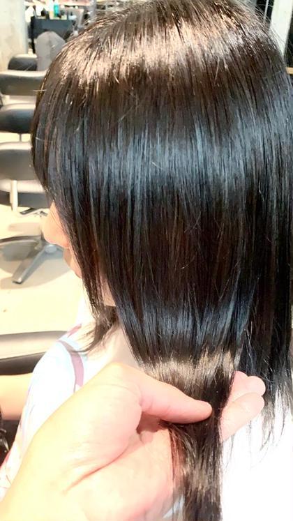 ✨神クーポン✨カット+イルミナカラー+髪質改善ウルトワトリートメント+炭酸泉✨