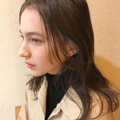 🌈カラー🌈濃厚髪質改善トリートメント😉