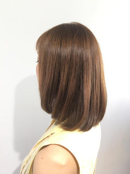 オーガニックカラー+艶髪plus