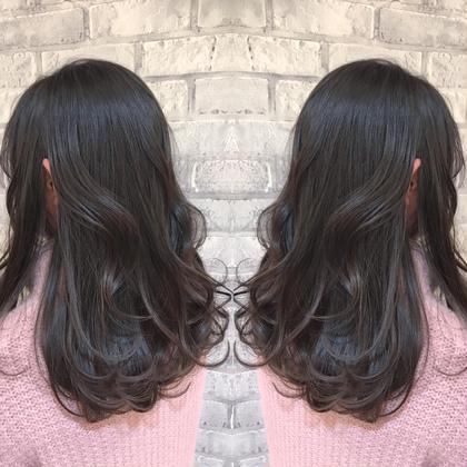 【初回限定】カット+シアバター配合うる艶カラー+髪質改善オッジオットトリートメント+炭酸泉クレンジング