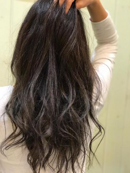 カラー & ✨艶髪✨トリートメント