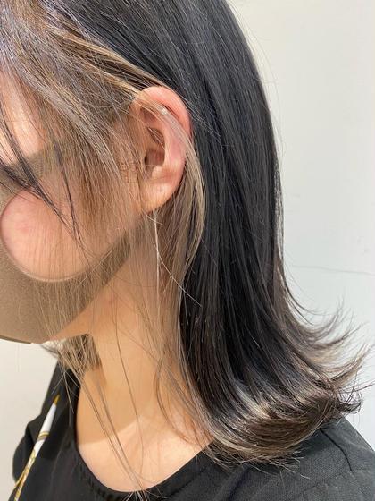 【💛大人気💛】デザインカラー!インナー、ハイライト、ローライトetc...