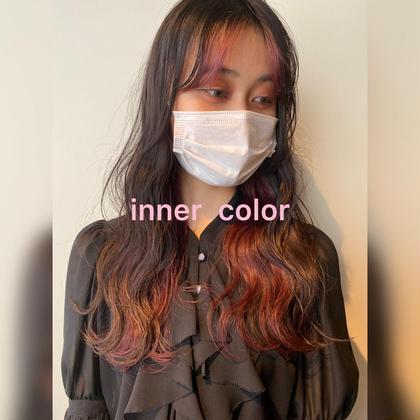 【2回目まで使える】インナーカラー(ブリーチ込)&艶髪トリートメント