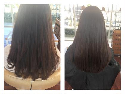 ダメージ毛でもカラーでここまでの艶 ハリ コシが手に入ります! イマジン経堂所属・久保勇樹のスタイル
