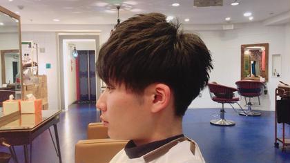 軽さと束感重視!後ろの刈り上げは繋がる感じで! 鈴木志穂のメンズヘアスタイル・髪型
