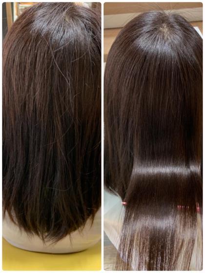 アルカリ電解水により髪の毛を元気にしてくれます!  通常のトリートメントで、なかなか思い通りにいかなかった方是非お試しを!