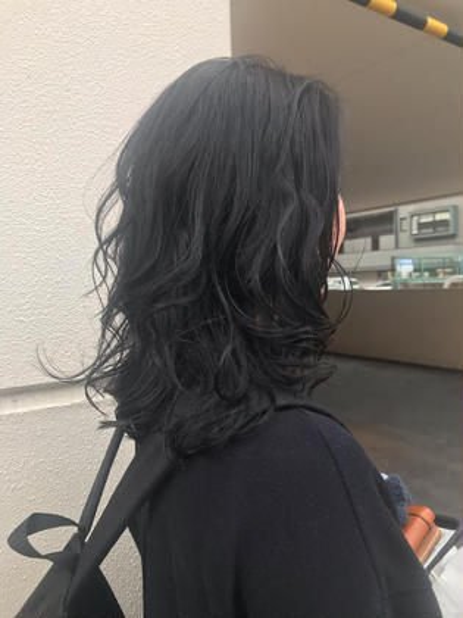 【人気No.2🌈✨✨✨】カット+ナチュラルパーマ+シャンプー+ブロー