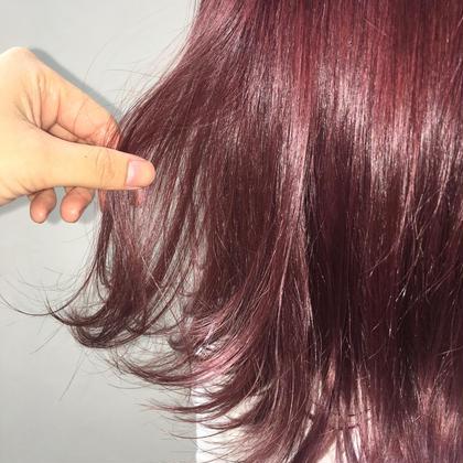 💜 イルミナカラー +3stepトリートメント( ホームケア1ヶ月付) 💜 髪に優しいカラーとお家でもケアできる✨