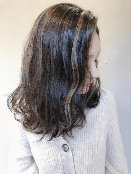 EIGHT上野所属の✨店長✨カラーの達人寺井翔のヘアカタログ
