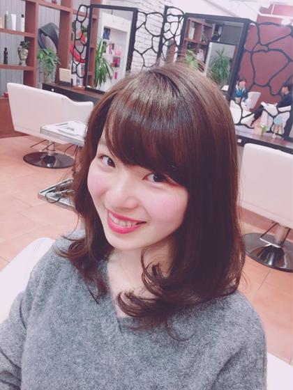 ふんわり愛されヘア✨ M.SLASH センター北店所属・素都真弓子のスタイル