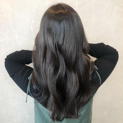 ✨人気NO1✨髪質改善💓サイエンスアクアinイルミナカラー➕艶TR➕小顔カット➕スチーム