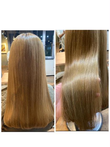 カットorカラー+髪質改善トリートメント