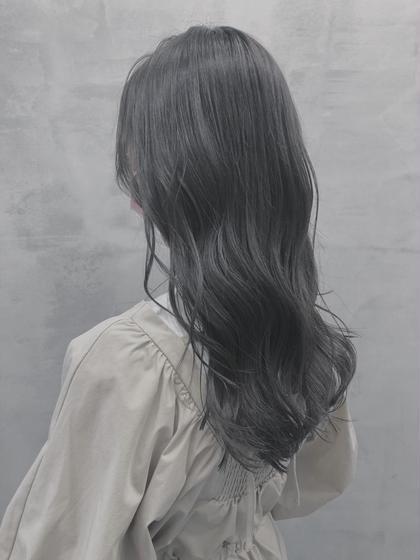 🍊今の髪色に飽きた方🍊色落ちも綺麗アディクシーカラー(髪質改善サイエンスアクア入り)+2stepトリートメント