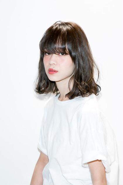 ロブスタイル ディレクターコジマ ダイスケのミディアムのヘアスタイル
