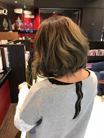 グラデーション♪ miq hair&beauty所属・裏本ひかるのスタイル