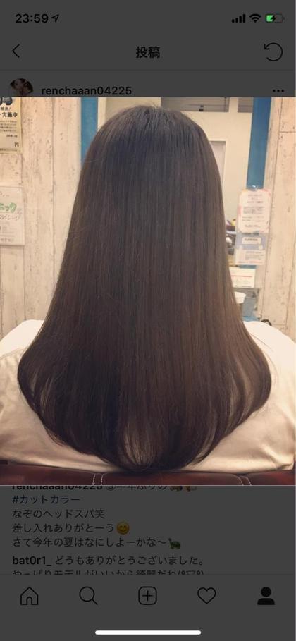 カットも🙆♀️◎ Hair&carecotton所属・手島エレン明美のスタイル