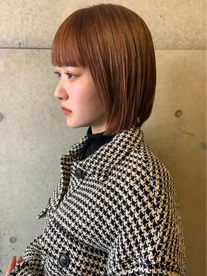 ★ミニモ価格★前髪カット+オーガニックカラー