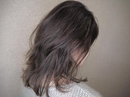 似合わせカット & 白髪染めカラー&ケアプロ超音波&遠赤外線トリートメント