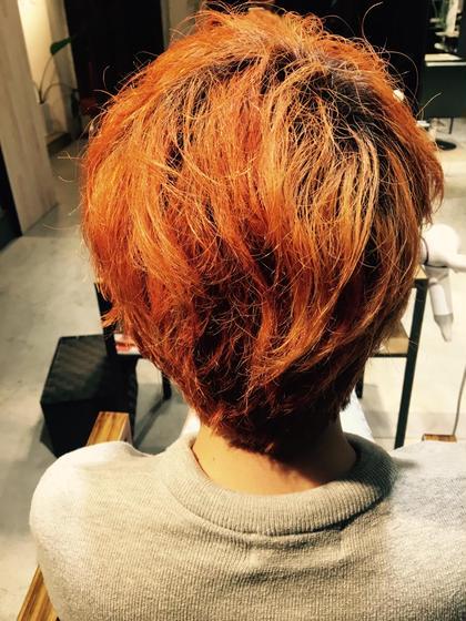 #orange #fullcolor HayatoTokyo Omotesando所属・OtsukaMegumiのスタイル