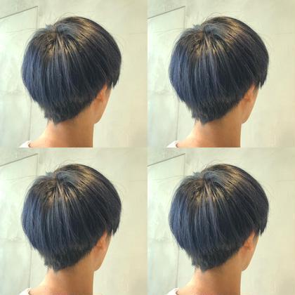 🍔メンズ限定🍔オリジナル外国人風透明感カラー+トリートメント🍔《髪質改善ケアカラー》