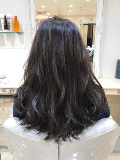 整えるだけでもOKです⭕️前髪カット&つやつやカラー & トリートメント