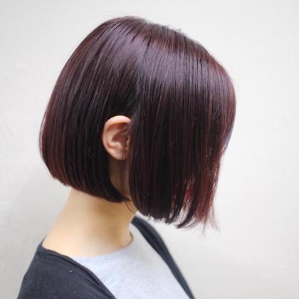 ❤️👑女子人気No.1👑❤️ ブリーチなし透明感カラー+髪質改善クイックトリートメント+炭酸ヘッドスパ