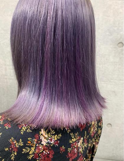 2️⃣全体ブリ🌟新規限定🌟前髪カット代なし‼️ケアブリ+派手髪選べるカラー+選べる3stpトリートメント+前髪カット