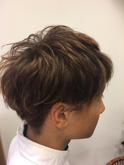 #メンズ マッシュショートスタイル‼︎ 仲光啓輔のメンズヘアスタイル・髪型