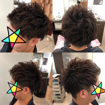 嶋田圭佑のメンズヘアスタイル・髪型