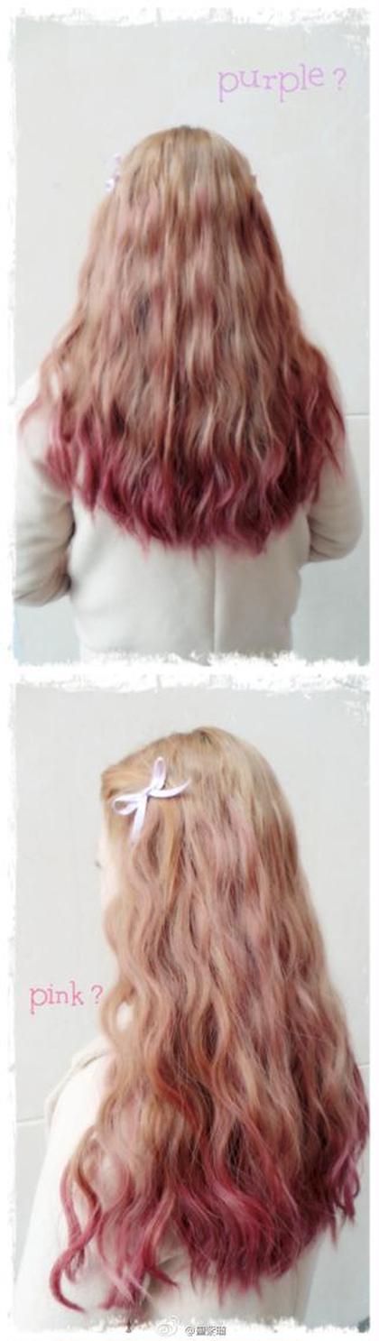 全頭ブリーチ + グラデーションカラー + ハイライト!!春夏にピッタリ! Hair Salon Cocoa所属・KyoElyseのスタイル