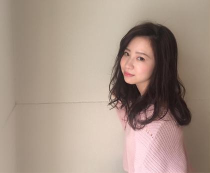 柔らかフェミニンスタイル♡ e.m.a INTERNATIONAL所属・牧野美季のスタイル