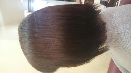 艶カラーで染めると天使の輪ができるほど艶が出ます!  艶を求めている方には凄くオススメです\(^o^)/ 興味のある方はぜひお申しつけください!!! SEED hair make所属・似合わせNo,1榎本翔太🦉のスタイル