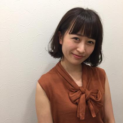 【小顔効果】前髪カット