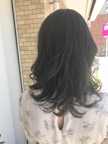 カラー 外人風カラーブリーチなしでも透明感のある仕上がりになります☺️  髪の毛も補修トリートメントでツヤツヤ❤️  髪がより綺麗に見えるカラー提案させて頂きます❤️  お客様に似合う色一緒に見つけましょう❤️