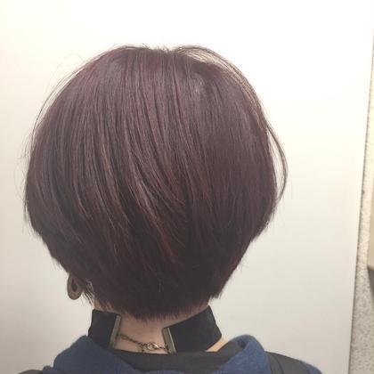秋カラー 透明感たっぷりです。 aile total bauty salon 梅田店所属・古沢貴史のスタイル