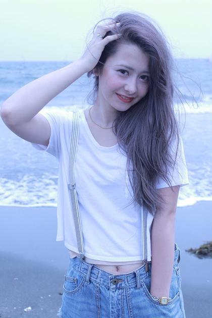 海に似合うブルージュカラー Hairdesignala所属・別所健太郎のスタイル