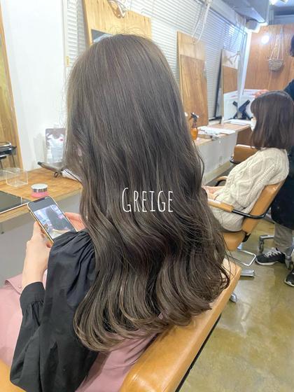 ✨髪を綺麗に伸ばしたい方へ✨メンテナンスカット+艶カラー+FLOWDIAトリートメント