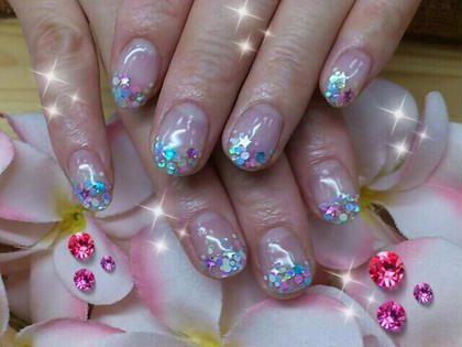 ミックスホログラデーション jewelry  nail所属・本村寛子のフォト
