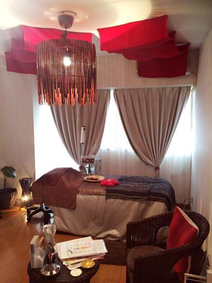 バリをイメージしたお部屋です✨ いつもとは違った空間にて癒しと美をを提供させて頂きます ヒーリングオアシス所属・宮崎仁美のフォト