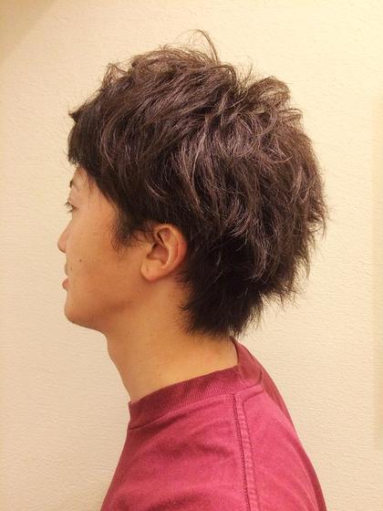 ショート メンズ ナチュラルパーマvol2★くせ毛をいかしてスタイリング