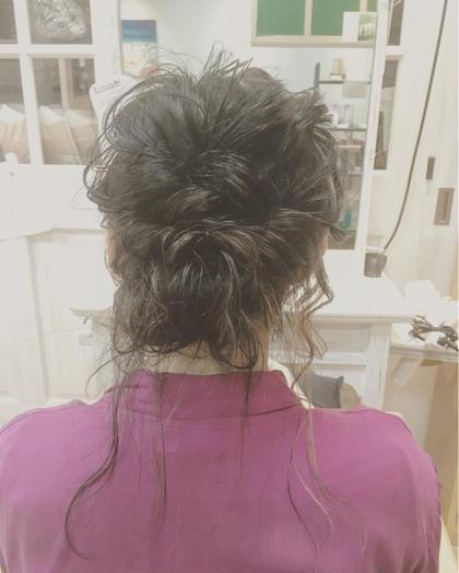 おくれ毛たっぷり◎ ハイライトもたっぷり◎ 花やの前の美容室所属・nakazawashihoのスタイル