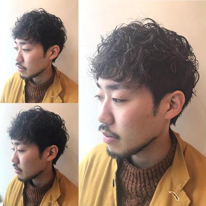 メンズグランンジパーマ wagon所属・小林佳祐のスタイル